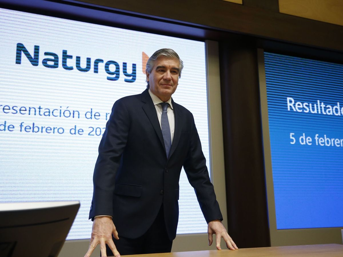 Foto: El presidente ejecutivo de Naturgy, Francisco Reynés. (EFE)