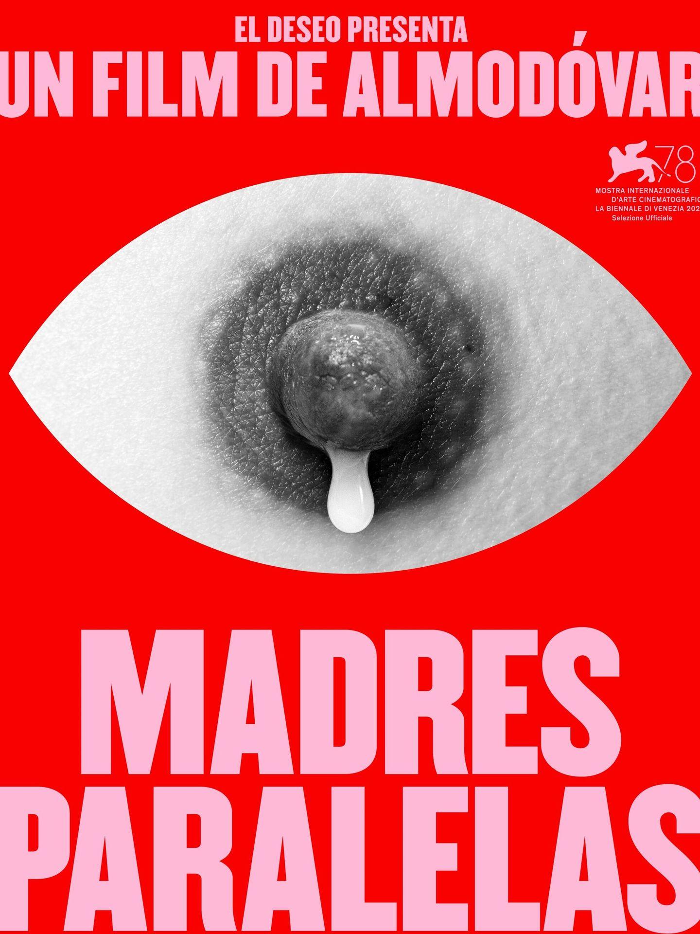 El cartel de 'Madres paralelas', el nuevo film de Pedro Almodóvar