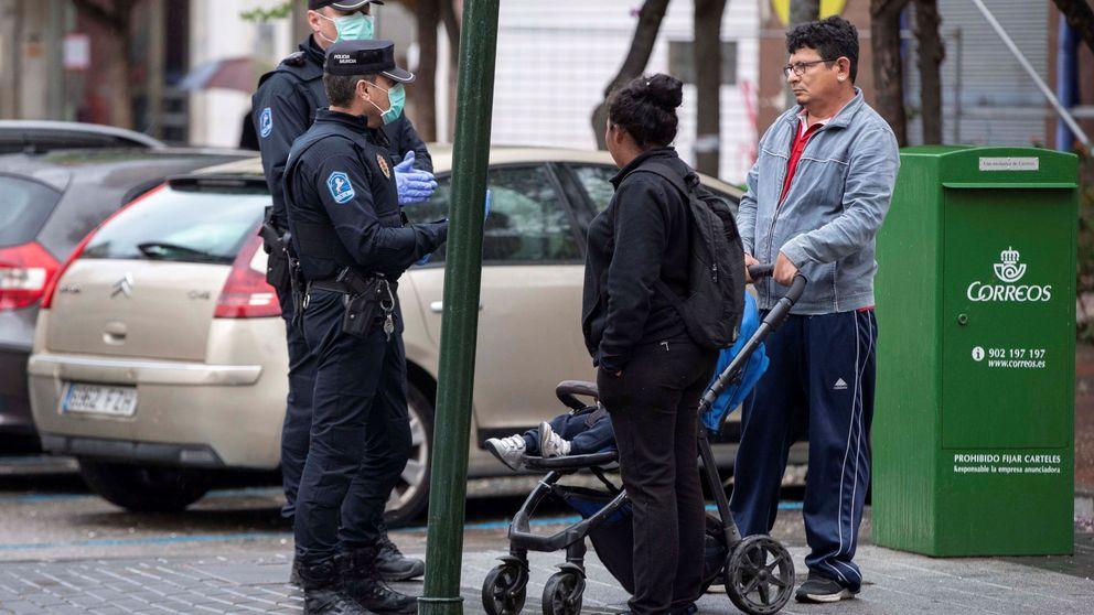 31.100 denuncias, 350 detenidos, 157 agentes contagiados: el balance de seis días de alarma