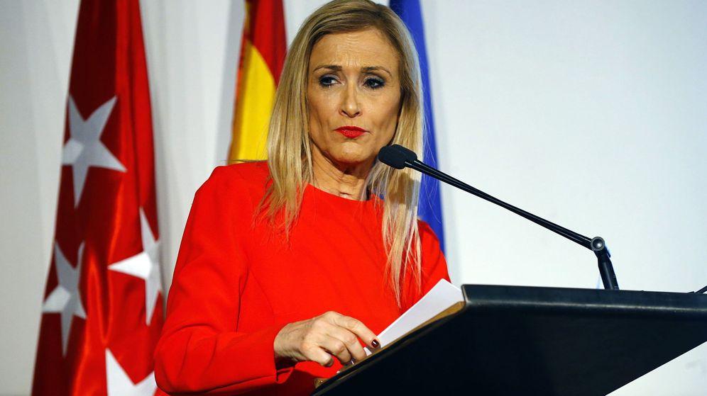 Foto: La presidenta madrileña, Cristina Cifuentes. (EFE)