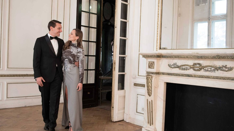 La pareja, fotografiada en Bucarest. (Cordon Press)