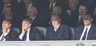 Post de El rey Juan Carlos, de un almuerzo con Sarkozy al Bernabéu en mitad del escándalo