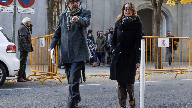 Marina Roig, abogada del presidente de Omnium, Jordi Cuixart. (EFE)