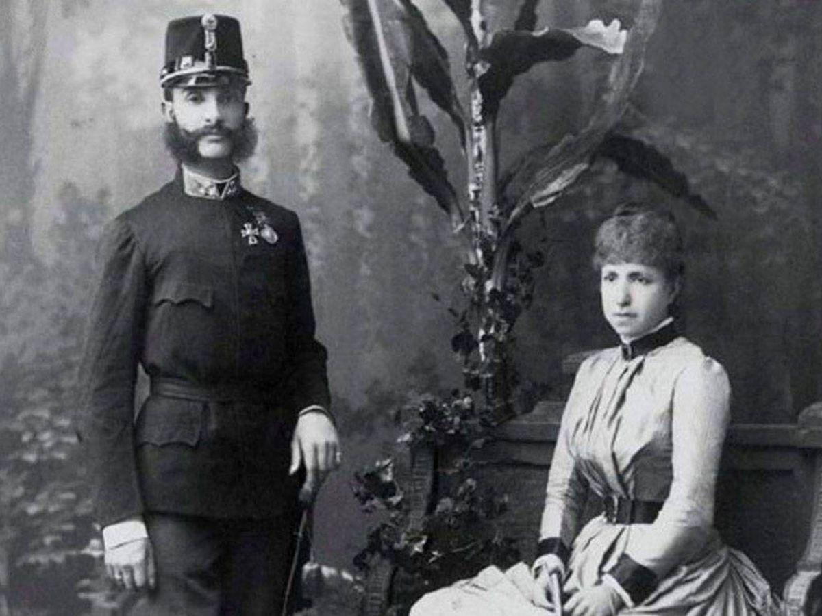 Foto: Alfonso XII y María Cristina.