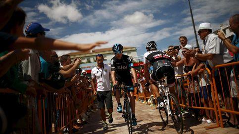 Froome no tiene las piernas del Tour pero resucitó y mandó su primer aviso