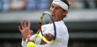 Post de Rafa Nadal en directo: solo Roger Federer separa al balear de la final de Wimbledon