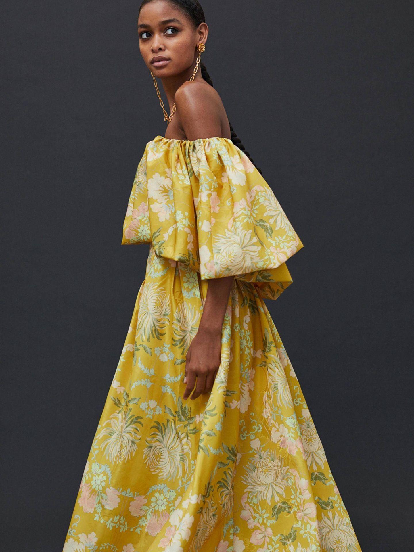 Vestidos Concious Collection de HyM. (Cortesía)