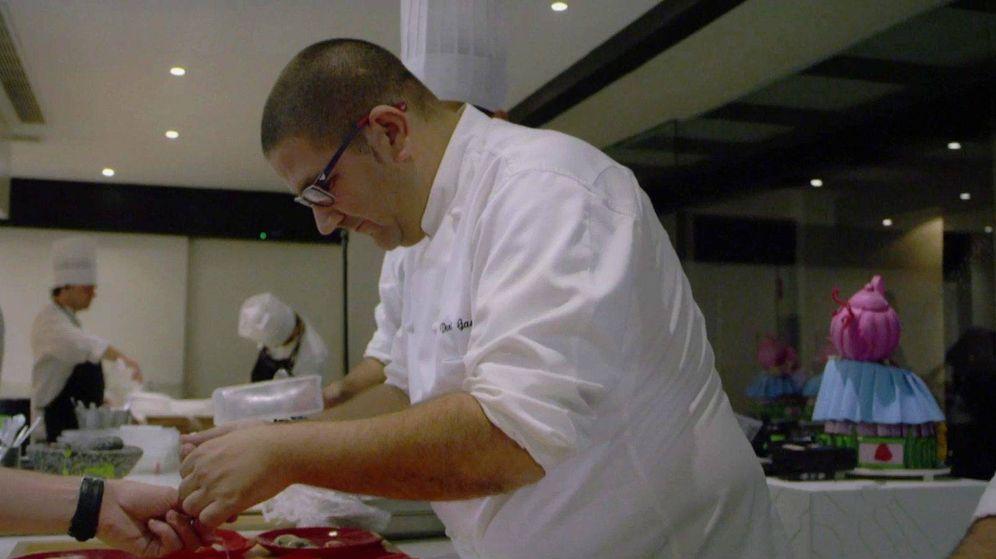 Foto: Dani García en su restaurante. (Cordon Press)