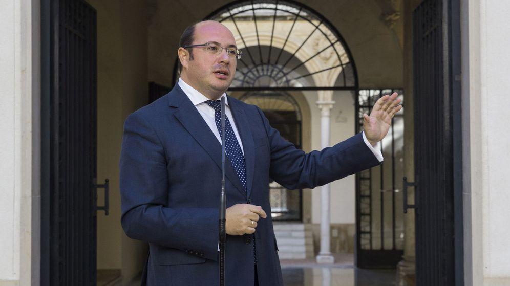 Foto: El presidente de la Comunidad de Murcia, Pedro Antonio Sánchez. (Efe)
