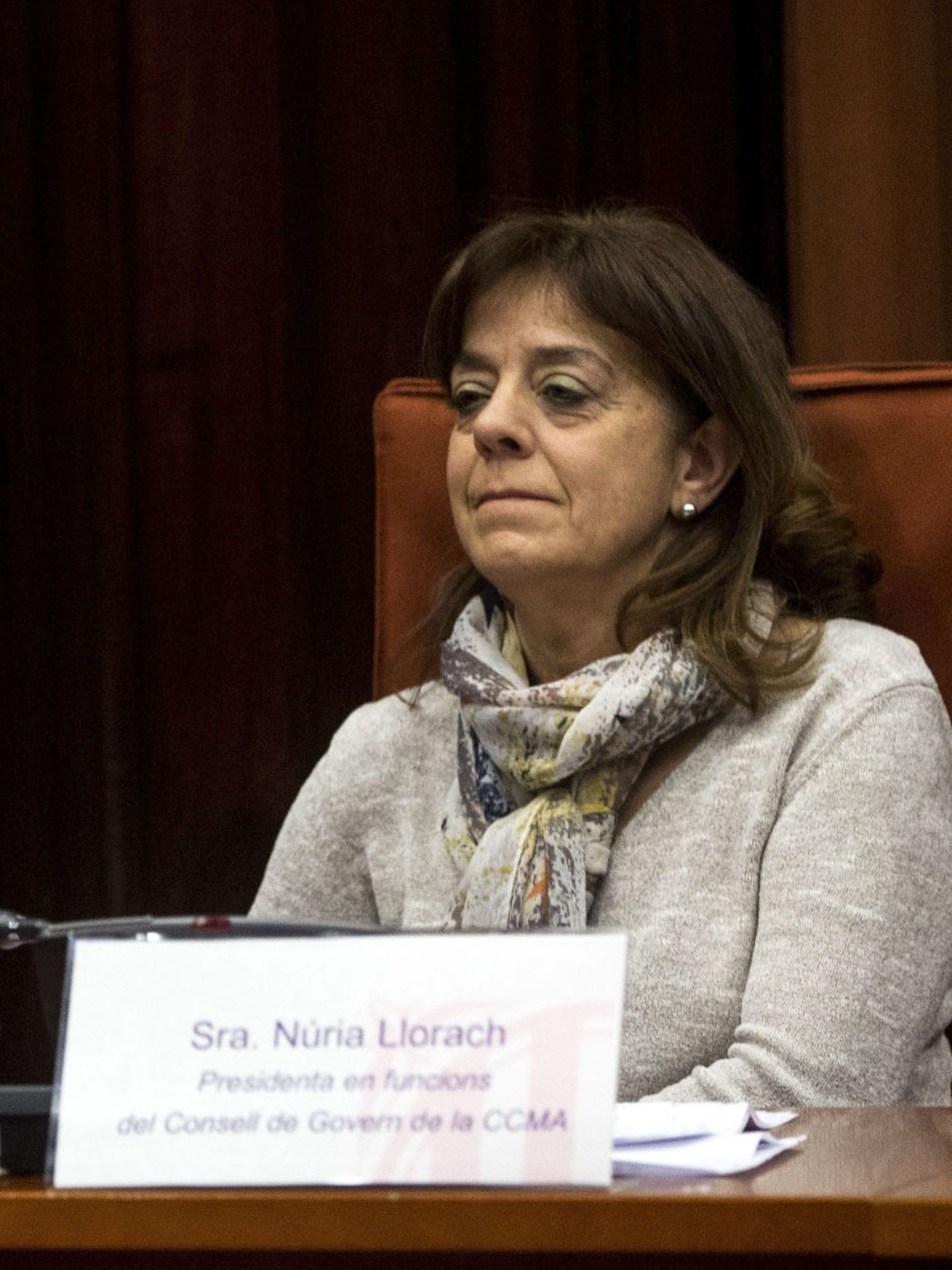 La presidenta de CCMA, Núria Llorach. (EFE)