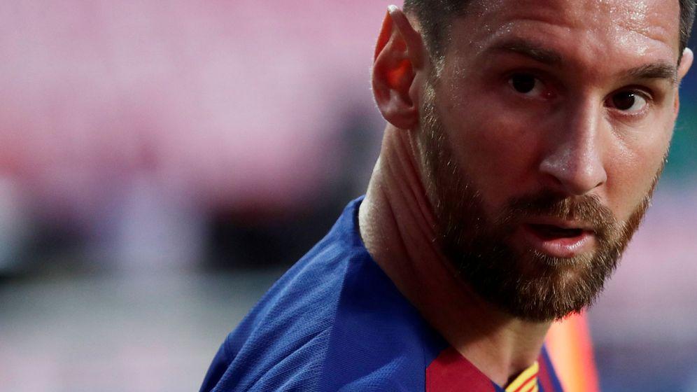 Foto: Leo Messi durante su partido frente al Bayern. (Reuters)