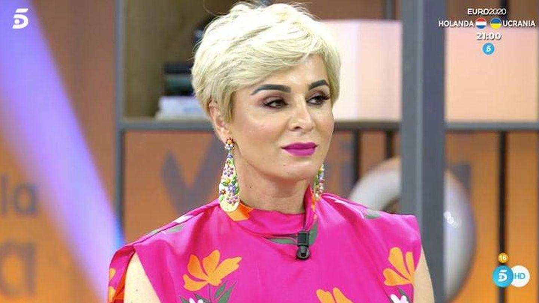 Ana María Aldón, en 'Viva la vida'. (Mediaset)