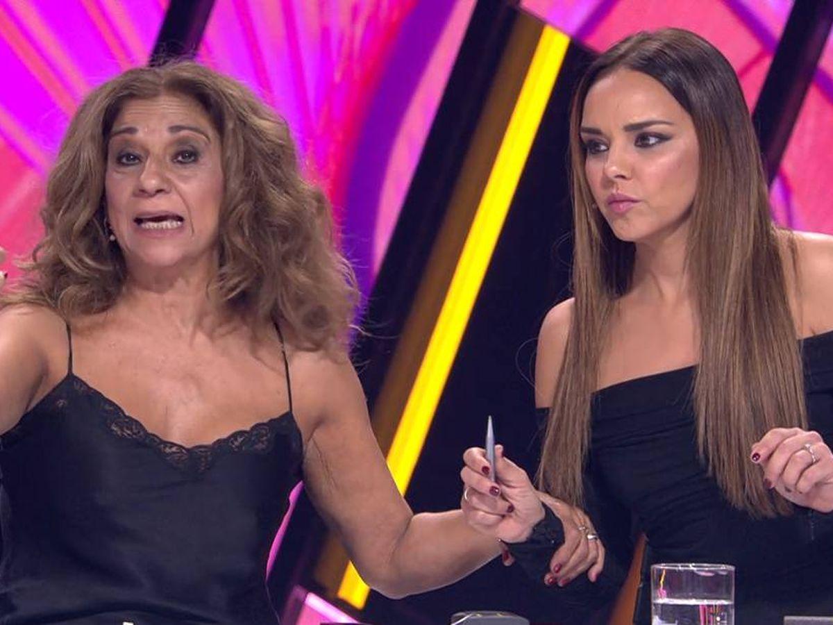 Foto: Lolita y Chenoa, en 'Tu cara me suena'. (Antena 3)