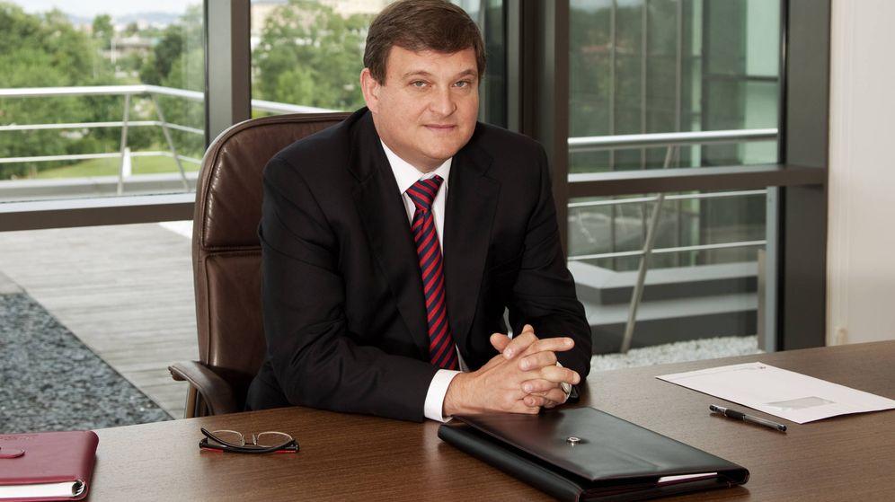 Foto: Ángel Antonio del Valle Suárez, el desde ahora expresidente de Duro Felguera.