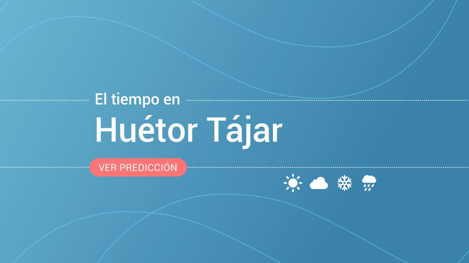 Foto: El tiempo en Huétor Tájar. (EC)