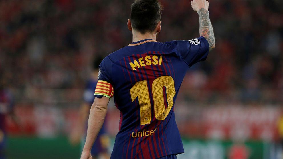 Messi está 'limpio' para meter presión al Madrid