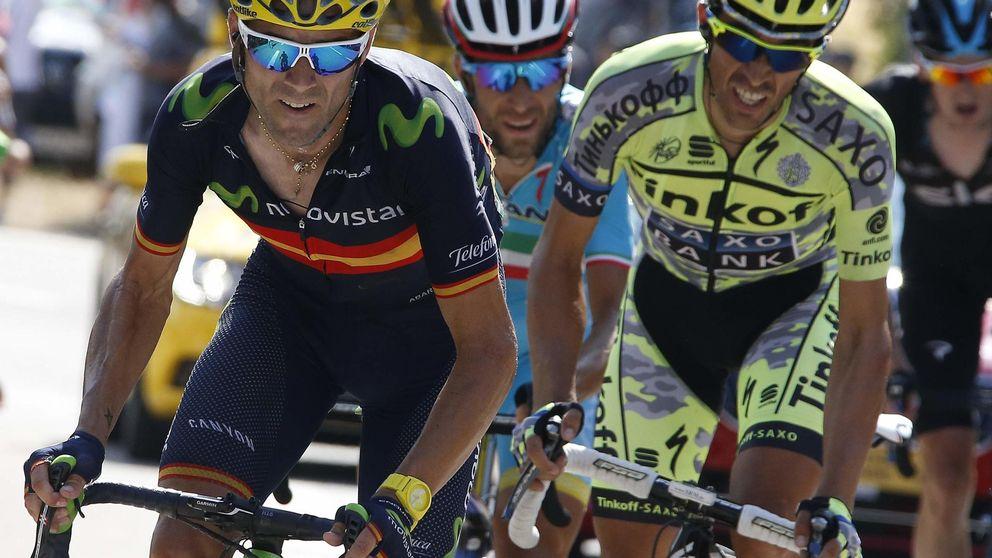 El sueño de Valverde de subir al podio de París le llega como gregario de lujo