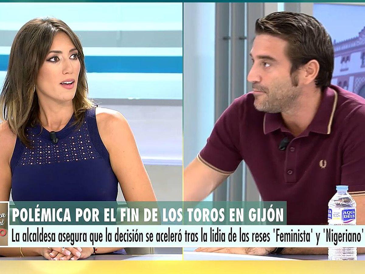 Foto: Patricia Pardo y Javier Negre, en 'El programa del verano'. (Mediaset)