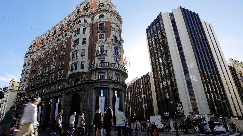 El edificio histórico del Banco de Valencia. (EFE)