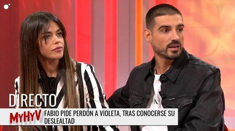 Fabio, obligado a explicar su infidelidad a Violeta tras la puñalada de Oriana