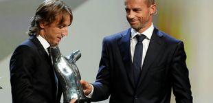 Post de Modric, mejor jugador del año para la UEFA... y ¿el próximo Balón de Oro?