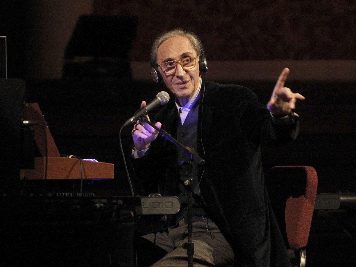 Foto: Battiato, durante un concierto en 2015. (EFE)