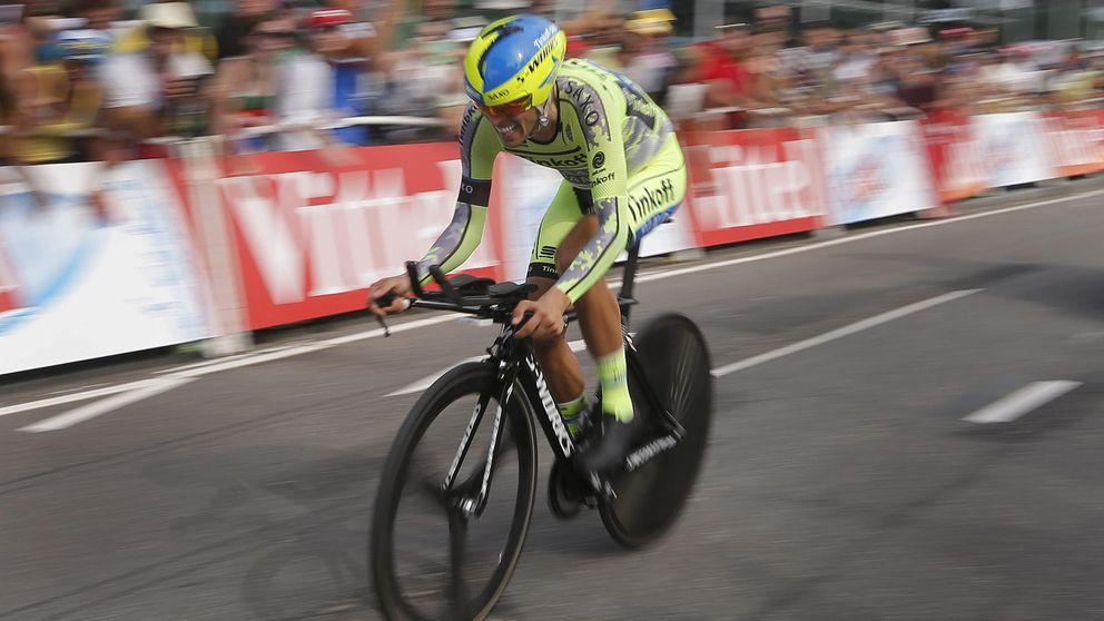 Quintana y Contador, dos maneras muy diferentes de asumir un modesto inicio