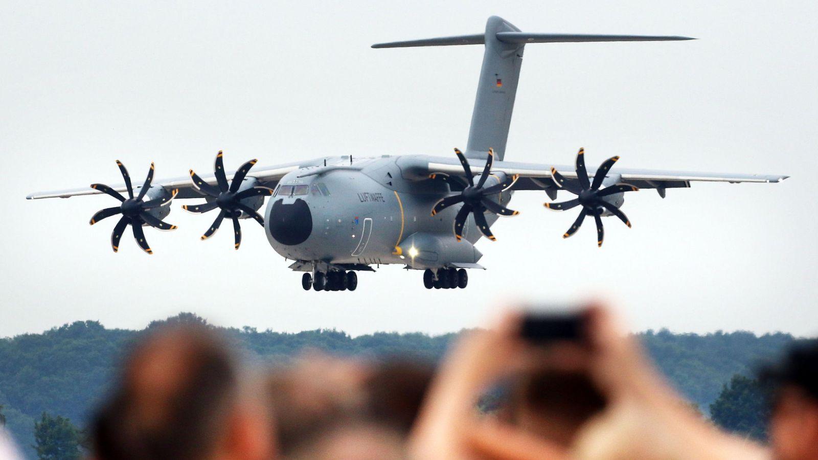 Foto: Avión A400M del ejército alemán. (Reuters)