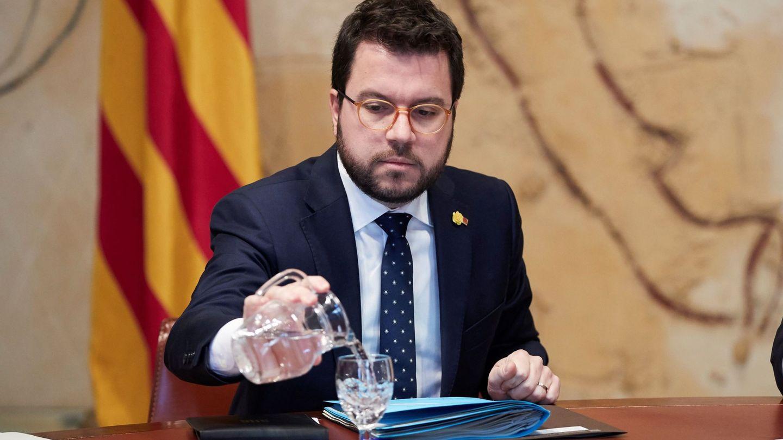 El vicepresidente del Govern, Pere Aragonès. (EFE)