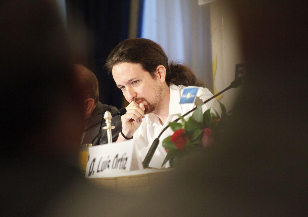 Foto: El líder de Podemos, Pablo Iglesias (E. Villarino)