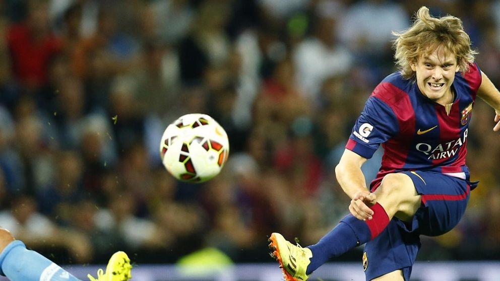 Obligado por la sanción, el Barça sigue con su casting en La Masía