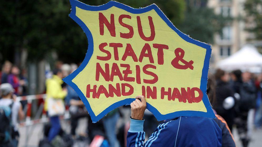 Foto: Una manifestación por el juicio a un neonazi en Munich. (Reuters)