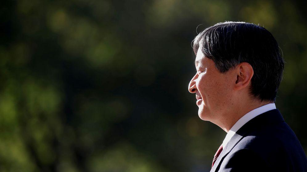 Foto: El emperador Naruhito, fotografiado en París. (Reuters)