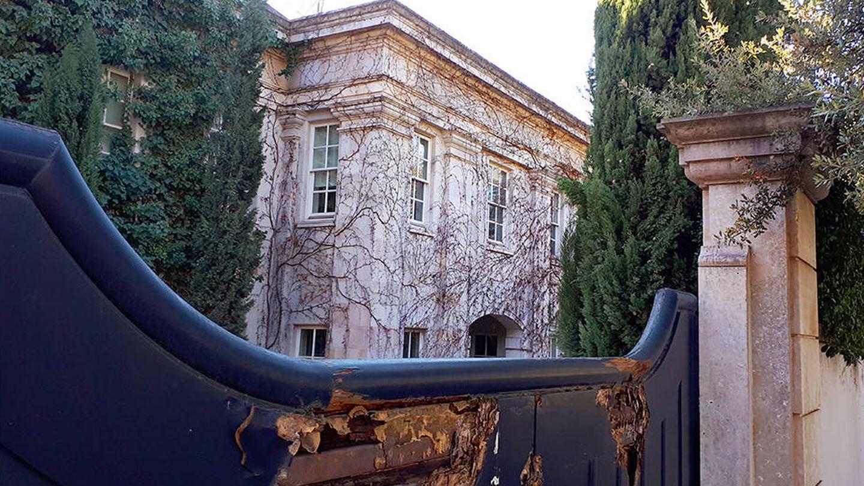 Su mansión en Puerta de Hierro en estado de abandono. (R.M).