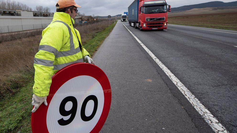 Cambia el límite de velocidad en las carreteras: 90 muertos menos y 650.000 euros de inversión