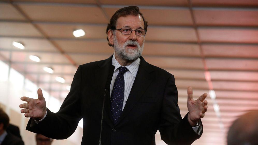 Foto: El presidente del Gobierno, Mariano Rajoy, el día de la Constitución. (EFE)