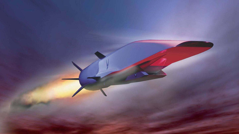 El X-51A Waverider fue el primer misil scramjet hipersónico del mundo (Boeing)