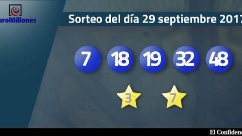 Resultados del Euromillones del 29 septiembre de 2017