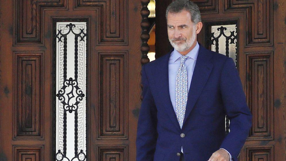 Foto: El rey Felipe VI en Marivent. (Reuters)