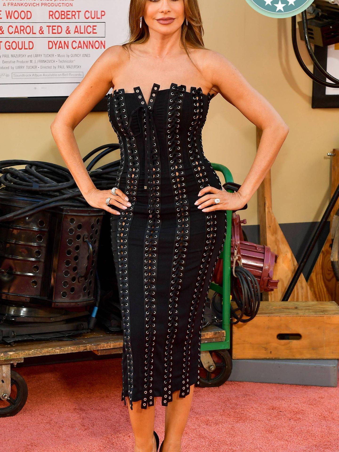 Sofia Vergara en la première de 'Once Upon a Time in Hollywood'. (Getty)