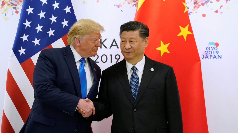 Donald Trump y Xi Jinping durante el G20. (Reuters)