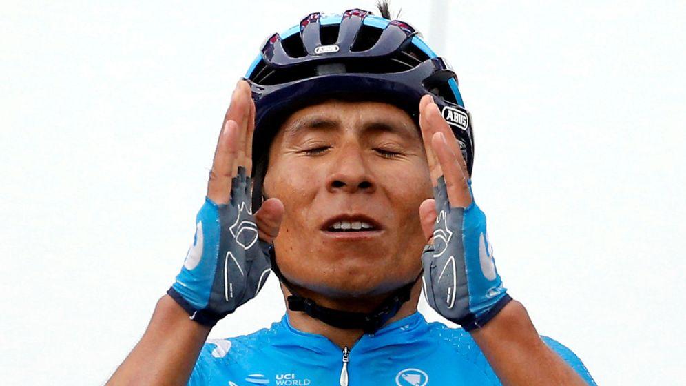 Foto: Nairo Quintana, con el maillot de Movistar el pasado 2018. (Reuters)
