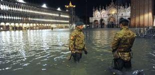 Post de Venecia sufre su peor inundación desde 1966: