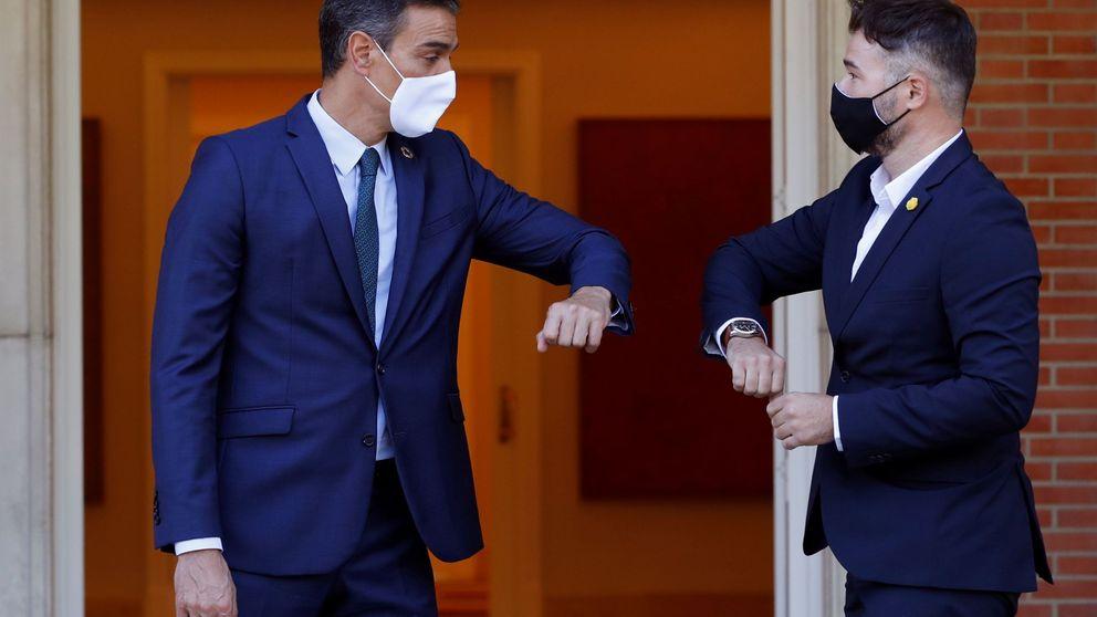 Sánchez y Rufián acuerdan convocar la mesa de diálogo entre Gobierno y Govern