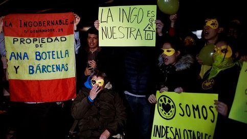 Desalojan 'La Ingobernable' en Madrid