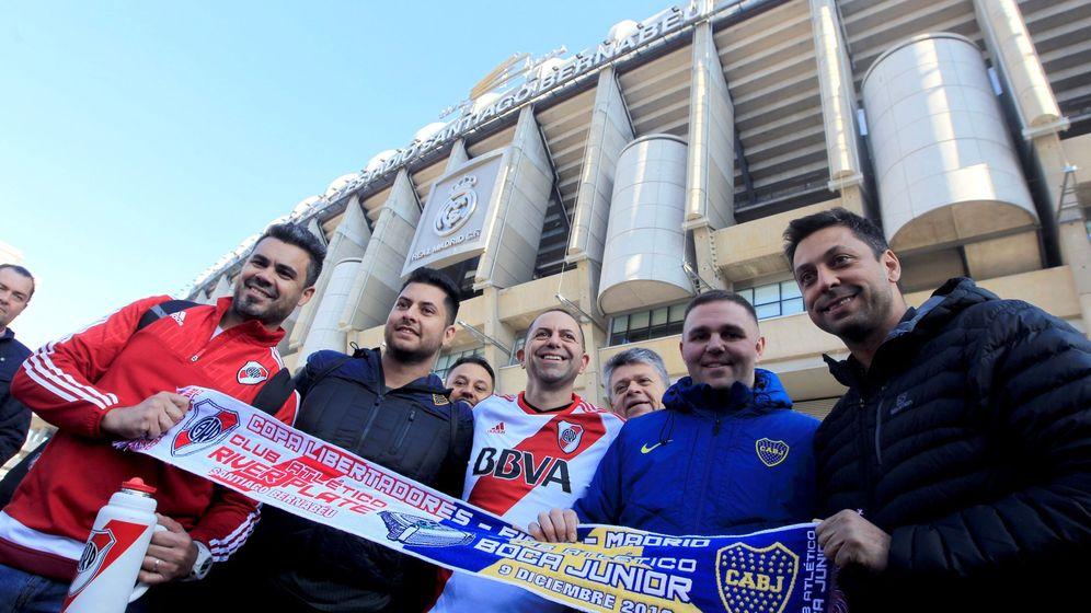 Foto: Los aficionados de Boca Juniors y River Plate estarán vigilados en todo momento (EFE/Eduardo Oyana)