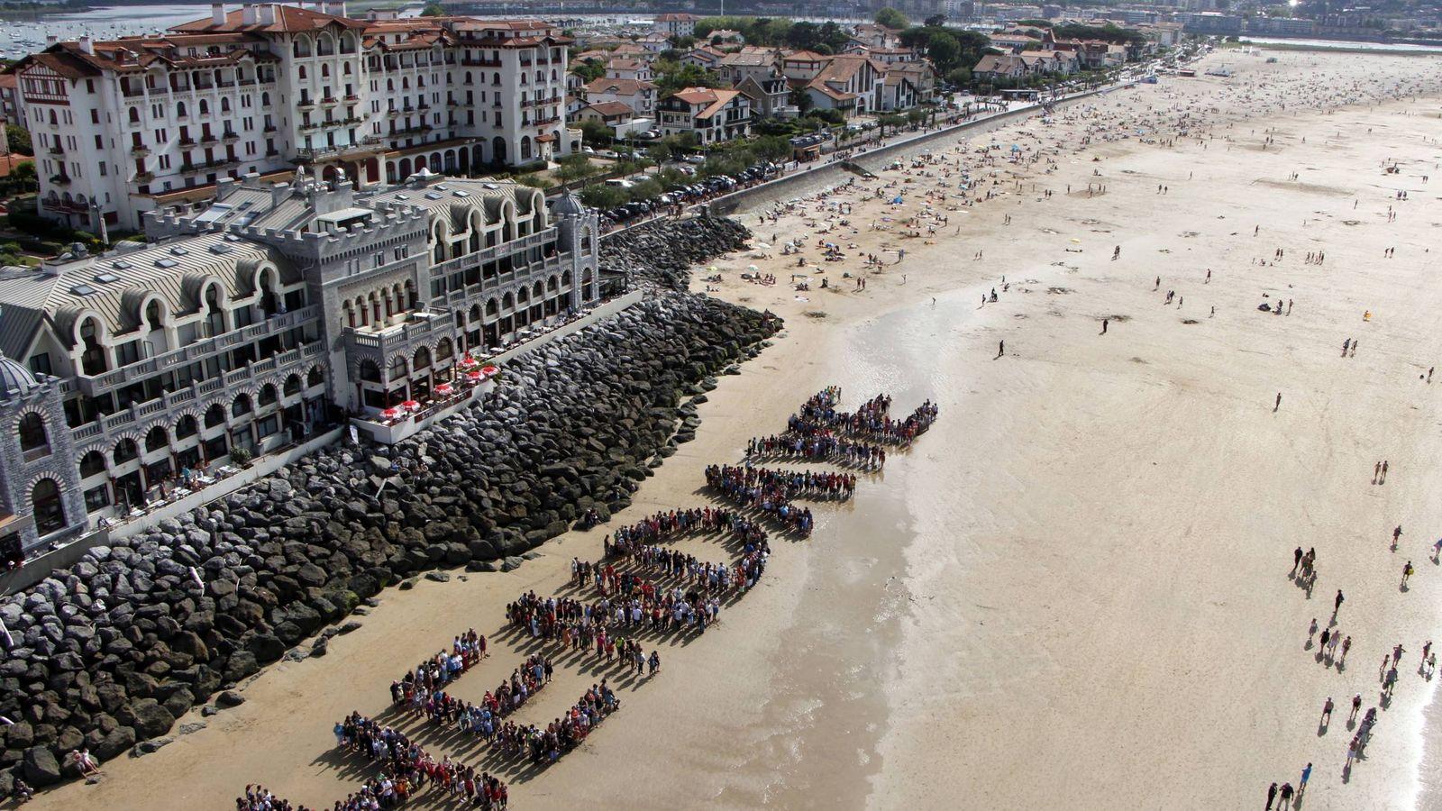 Foto: La playa de Hendaya es una de las mejores de Francia. (Foto: Turismo Hendaya)