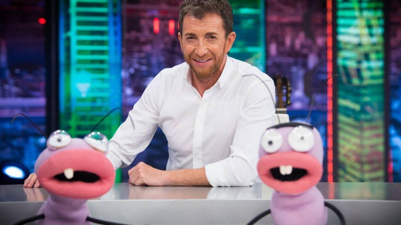 Pablo Motos, junto a Trancas y Barrancas. (Atresmedia)