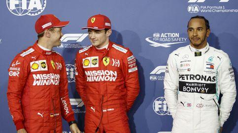 Maranello, tenemos un problema: Leclerc se sube muy pronto a las barbas de Vettel