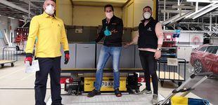 Post de Las oficinas de Correos reparten casi un millón de mascarillas a los transportistas